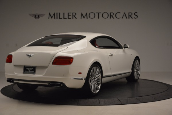 Used 2014 Bentley Continental GT Speed for sale Sold at Bentley Greenwich in Greenwich CT 06830 8