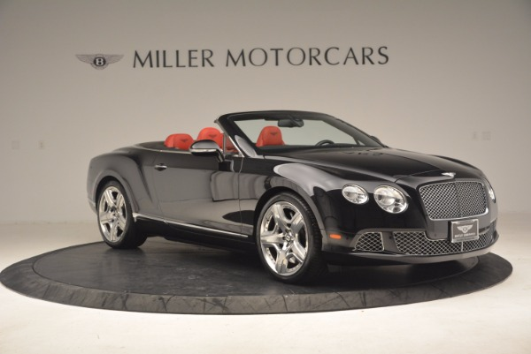 Used 2012 Bentley Continental GT W12 Convertible for sale Sold at Bentley Greenwich in Greenwich CT 06830 10