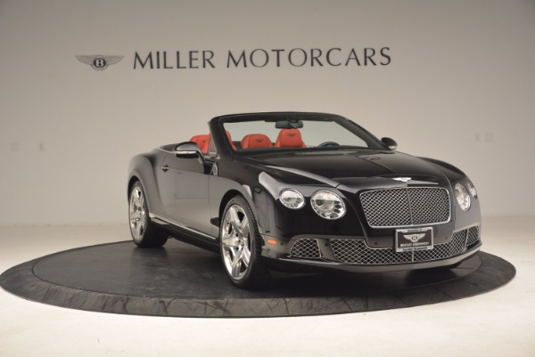 Used 2012 Bentley Continental GT W12 Convertible for sale Sold at Bentley Greenwich in Greenwich CT 06830 11