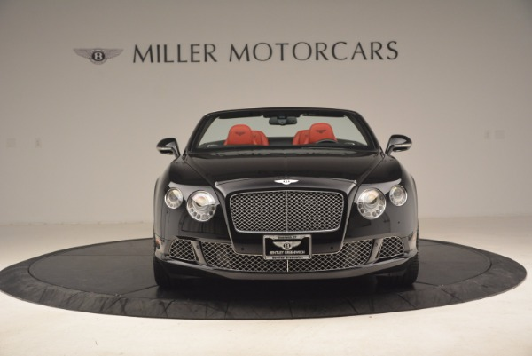Used 2012 Bentley Continental GT W12 Convertible for sale Sold at Bentley Greenwich in Greenwich CT 06830 12