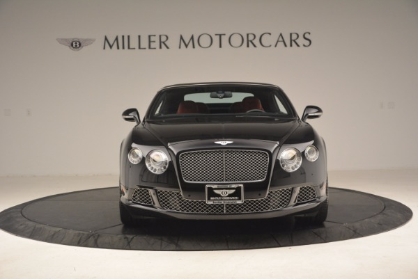 Used 2012 Bentley Continental GT W12 Convertible for sale Sold at Bentley Greenwich in Greenwich CT 06830 13