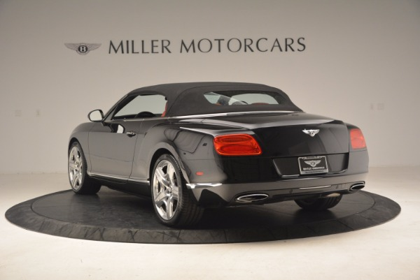 Used 2012 Bentley Continental GT W12 Convertible for sale Sold at Bentley Greenwich in Greenwich CT 06830 18