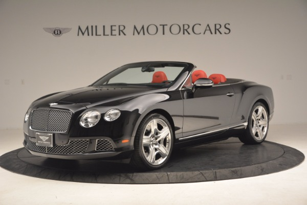 Used 2012 Bentley Continental GT W12 Convertible for sale Sold at Bentley Greenwich in Greenwich CT 06830 2