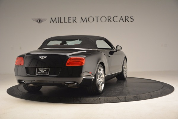 Used 2012 Bentley Continental GT W12 Convertible for sale Sold at Bentley Greenwich in Greenwich CT 06830 20
