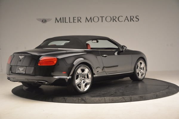 Used 2012 Bentley Continental GT W12 Convertible for sale Sold at Bentley Greenwich in Greenwich CT 06830 21