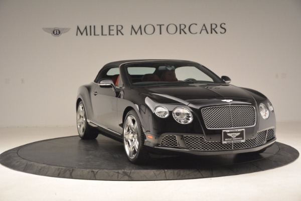 Used 2012 Bentley Continental GT W12 Convertible for sale Sold at Bentley Greenwich in Greenwich CT 06830 24