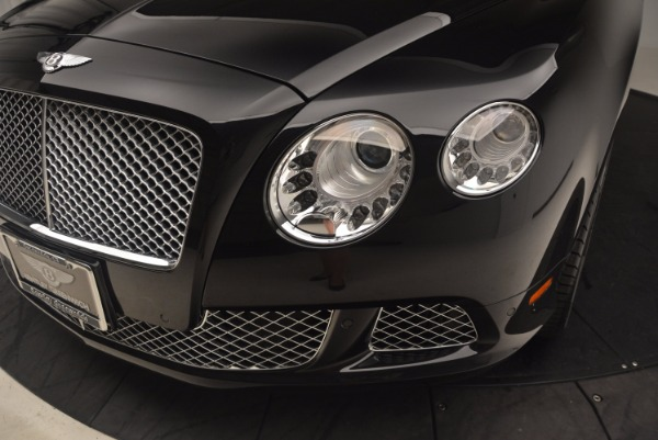 Used 2012 Bentley Continental GT W12 Convertible for sale Sold at Bentley Greenwich in Greenwich CT 06830 27