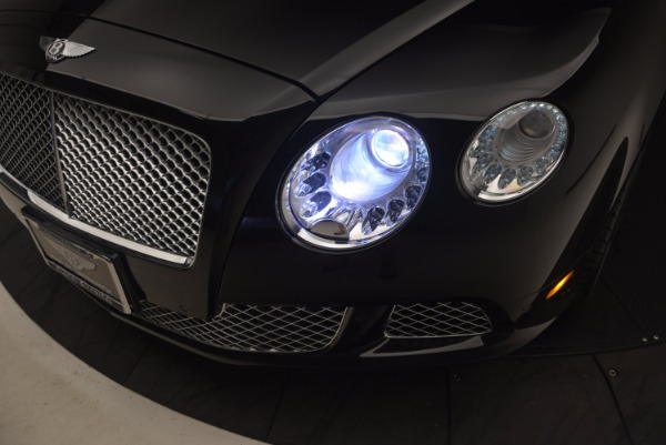 Used 2012 Bentley Continental GT W12 Convertible for sale Sold at Bentley Greenwich in Greenwich CT 06830 28