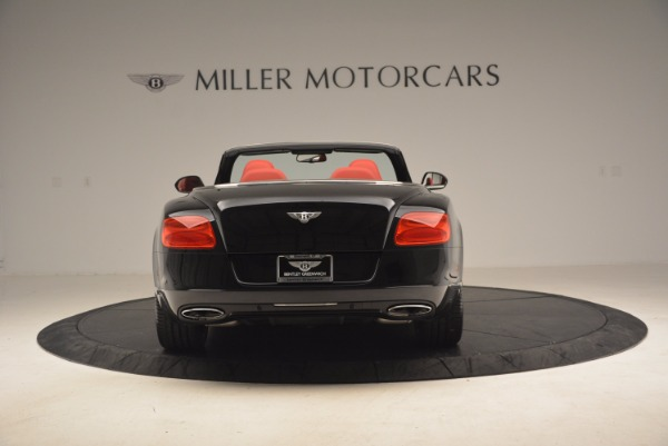 Used 2012 Bentley Continental GT W12 Convertible for sale Sold at Bentley Greenwich in Greenwich CT 06830 6
