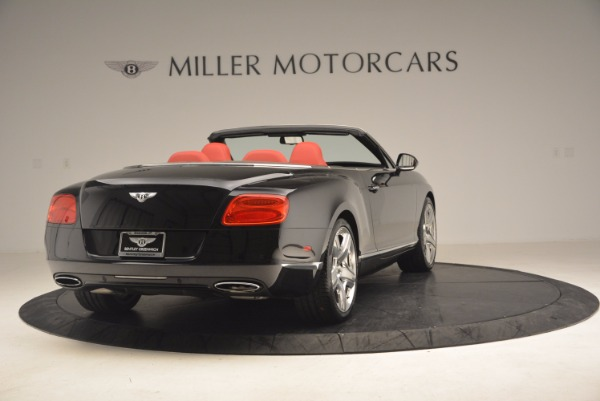 Used 2012 Bentley Continental GT W12 Convertible for sale Sold at Bentley Greenwich in Greenwich CT 06830 7