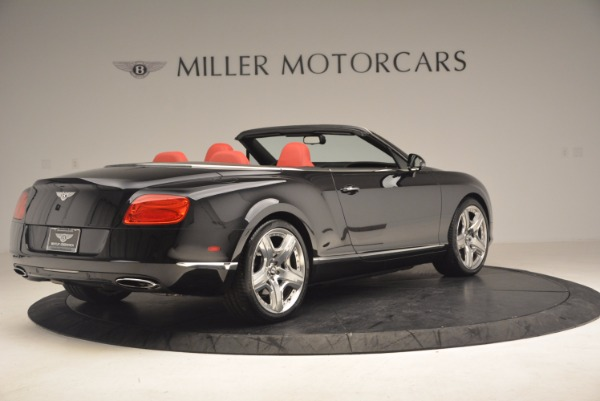 Used 2012 Bentley Continental GT W12 Convertible for sale Sold at Bentley Greenwich in Greenwich CT 06830 8