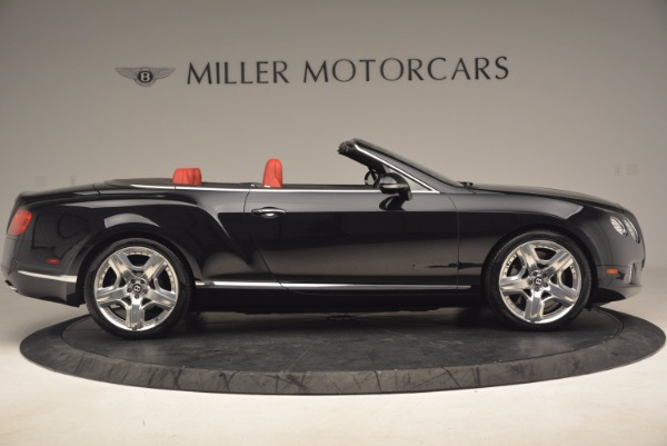 Used 2012 Bentley Continental GT W12 Convertible for sale Sold at Bentley Greenwich in Greenwich CT 06830 9