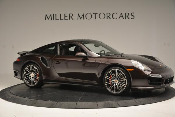 Used 2014 Porsche 911 Turbo for sale Sold at Bentley Greenwich in Greenwich CT 06830 13