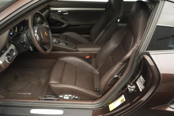 Used 2014 Porsche 911 Turbo for sale Sold at Bentley Greenwich in Greenwich CT 06830 17