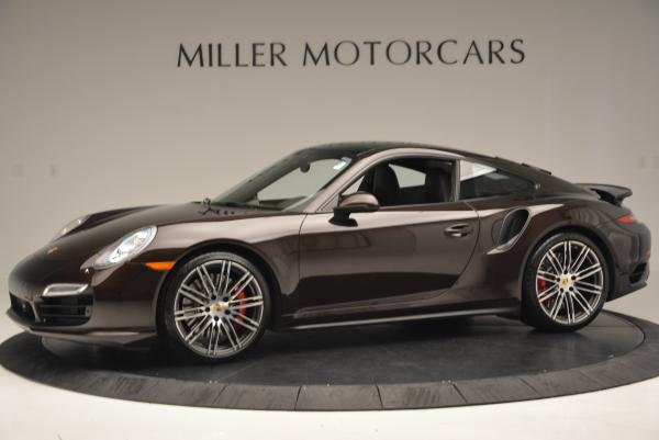 Used 2014 Porsche 911 Turbo for sale Sold at Bentley Greenwich in Greenwich CT 06830 3