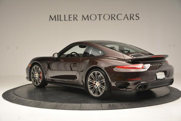 Used 2014 Porsche 911 Turbo for sale Sold at Bentley Greenwich in Greenwich CT 06830 5