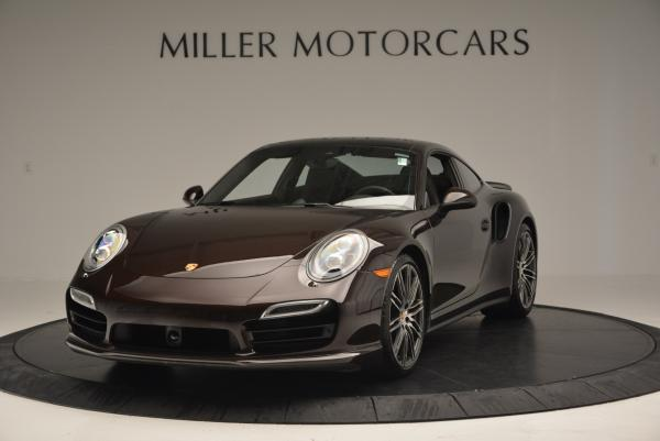 Used 2014 Porsche 911 Turbo for sale Sold at Bentley Greenwich in Greenwich CT 06830 1