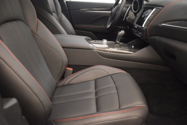 Used 2017 Maserati Levante S for sale Sold at Bentley Greenwich in Greenwich CT 06830 21