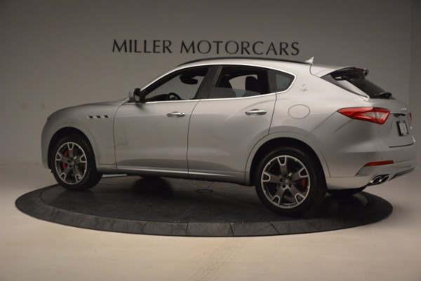 Used 2017 Maserati Levante S for sale Sold at Bentley Greenwich in Greenwich CT 06830 4