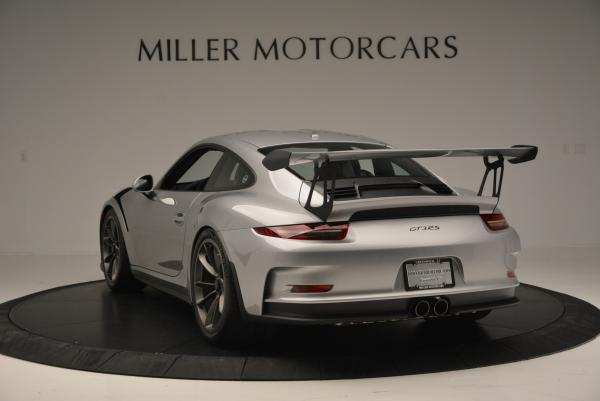 Used 2016 Porsche 911 GT3 RS for sale Sold at Bentley Greenwich in Greenwich CT 06830 4