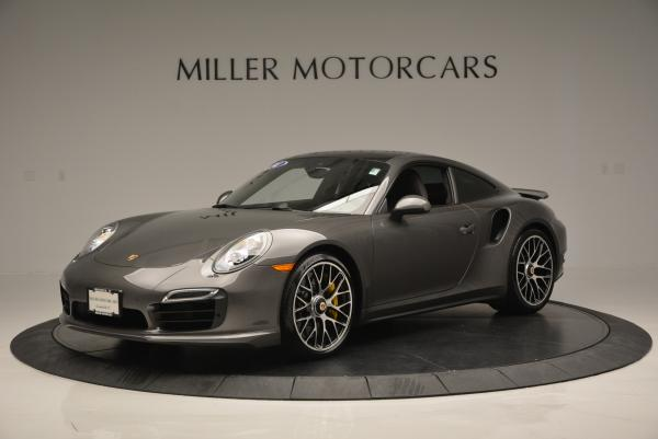 Used 2014 Porsche 911 Turbo S for sale Sold at Bentley Greenwich in Greenwich CT 06830 2