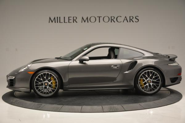 Used 2014 Porsche 911 Turbo S for sale Sold at Bentley Greenwich in Greenwich CT 06830 3