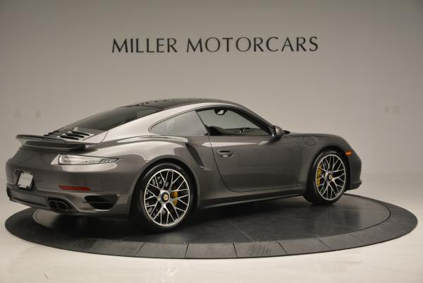 Used 2014 Porsche 911 Turbo S for sale Sold at Bentley Greenwich in Greenwich CT 06830 7