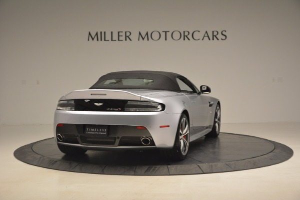 Used 2015 Aston Martin V12 Vantage S Roadster for sale Sold at Bentley Greenwich in Greenwich CT 06830 19
