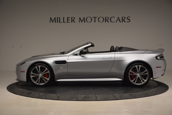 Used 2015 Aston Martin V12 Vantage S Roadster for sale Sold at Bentley Greenwich in Greenwich CT 06830 3