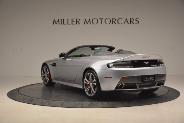 Used 2015 Aston Martin V12 Vantage S Roadster for sale Sold at Bentley Greenwich in Greenwich CT 06830 5