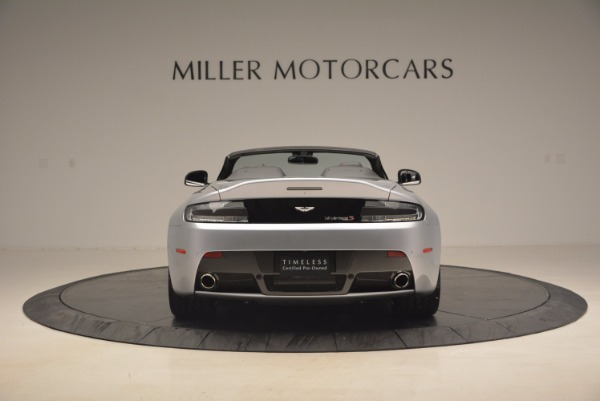 Used 2015 Aston Martin V12 Vantage S Roadster for sale Sold at Bentley Greenwich in Greenwich CT 06830 6