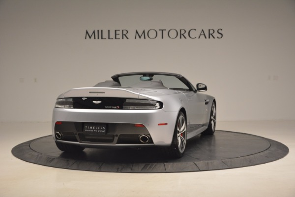 Used 2015 Aston Martin V12 Vantage S Roadster for sale Sold at Bentley Greenwich in Greenwich CT 06830 7