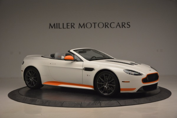Used 2017 Aston Martin V12 Vantage S Convertible for sale Sold at Bentley Greenwich in Greenwich CT 06830 10