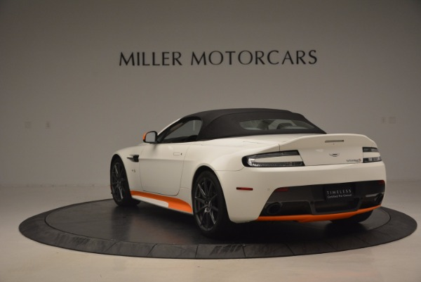 Used 2017 Aston Martin V12 Vantage S Convertible for sale Sold at Bentley Greenwich in Greenwich CT 06830 17