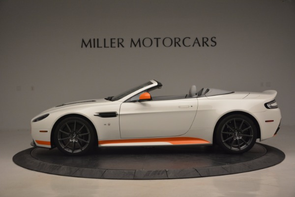 Used 2017 Aston Martin V12 Vantage S Convertible for sale Sold at Bentley Greenwich in Greenwich CT 06830 3
