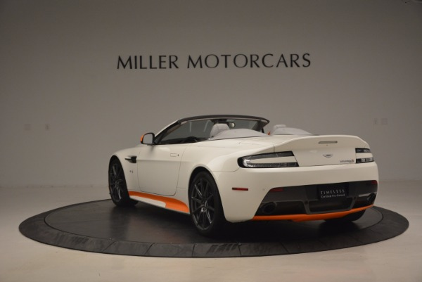 Used 2017 Aston Martin V12 Vantage S Convertible for sale Sold at Bentley Greenwich in Greenwich CT 06830 5