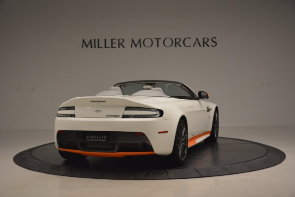 Used 2017 Aston Martin V12 Vantage S Convertible for sale Sold at Bentley Greenwich in Greenwich CT 06830 7