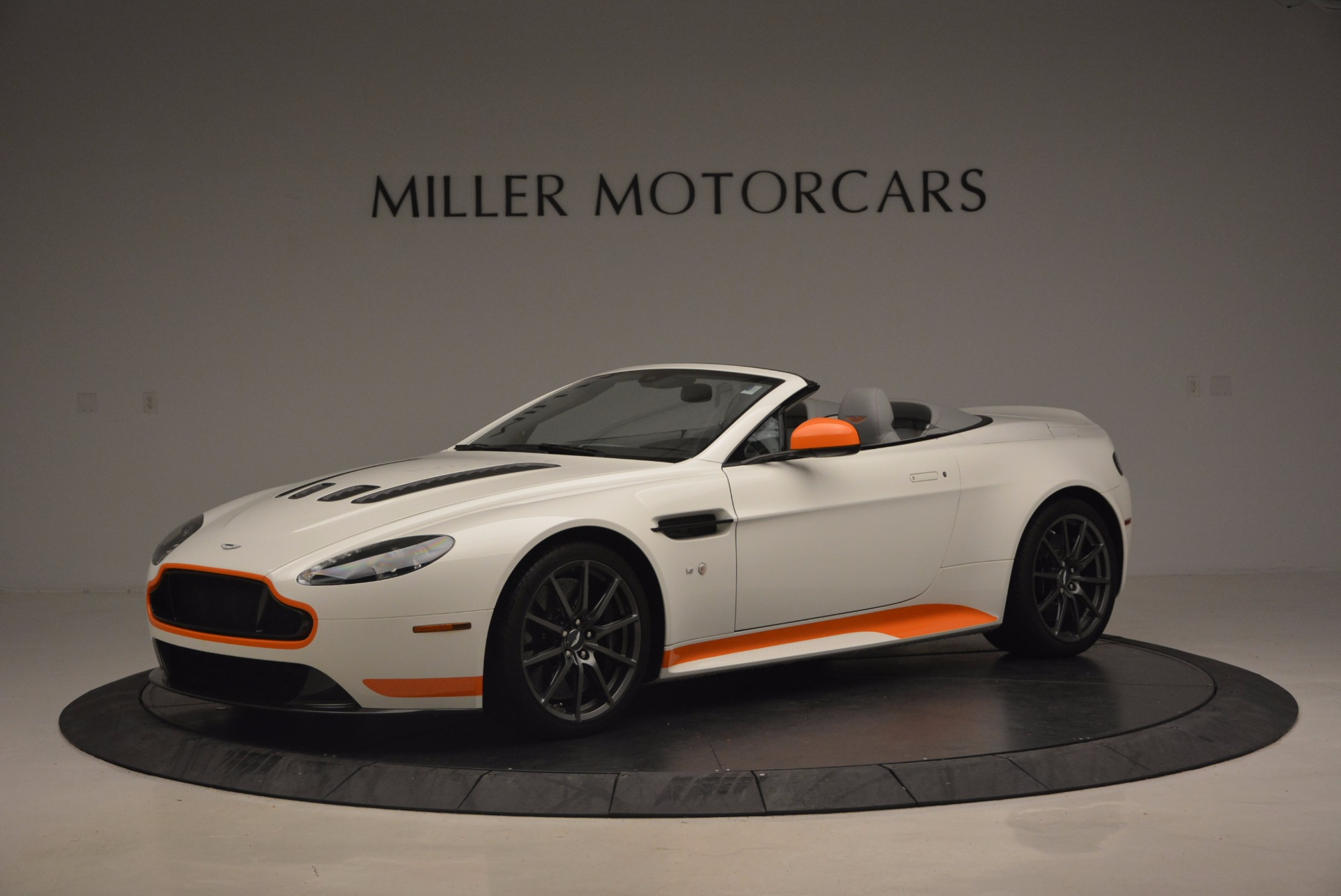 Used 2017 Aston Martin V12 Vantage S Convertible for sale Sold at Bentley Greenwich in Greenwich CT 06830 1