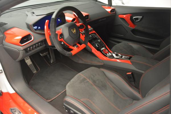 Used 2015 Lamborghini Huracan LP610-4 for sale Sold at Bentley Greenwich in Greenwich CT 06830 16