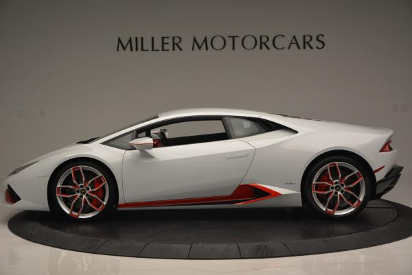 Used 2015 Lamborghini Huracan LP610-4 for sale Sold at Bentley Greenwich in Greenwich CT 06830 3