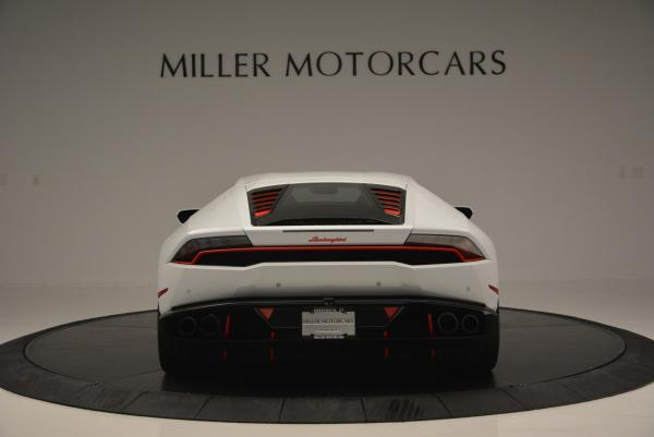 Used 2015 Lamborghini Huracan LP610-4 for sale Sold at Bentley Greenwich in Greenwich CT 06830 6