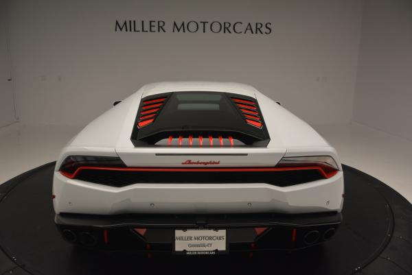 Used 2015 Lamborghini Huracan LP610-4 for sale Sold at Bentley Greenwich in Greenwich CT 06830 7