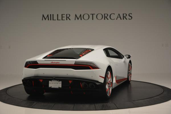 Used 2015 Lamborghini Huracan LP610-4 for sale Sold at Bentley Greenwich in Greenwich CT 06830 9