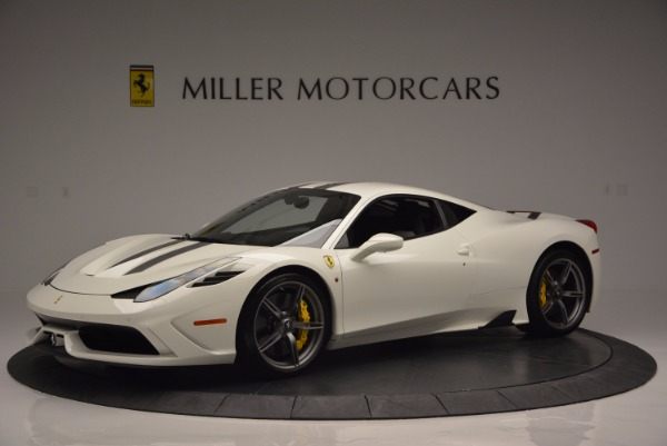 Used 2015 Ferrari 458 Speciale for sale Sold at Bentley Greenwich in Greenwich CT 06830 2