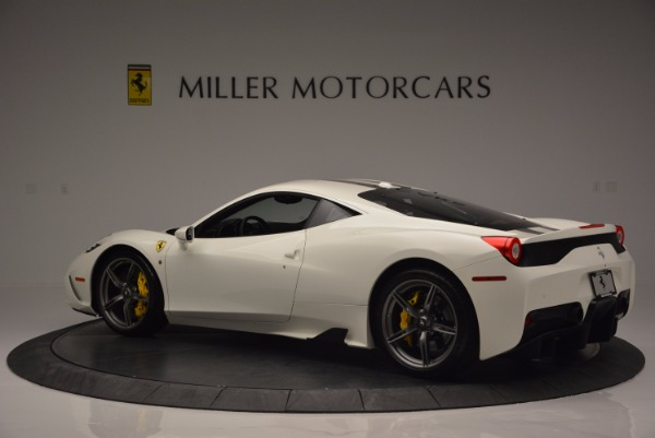 Used 2015 Ferrari 458 Speciale for sale Sold at Bentley Greenwich in Greenwich CT 06830 4