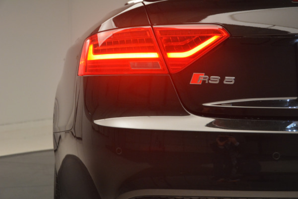 Used 2014 Audi RS 5 quattro for sale Sold at Bentley Greenwich in Greenwich CT 06830 26