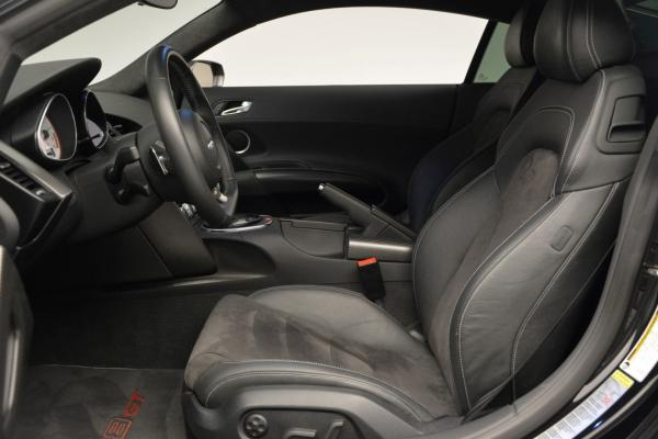 Used 2012 Audi R8 GT (R tronic) for sale Sold at Bentley Greenwich in Greenwich CT 06830 14