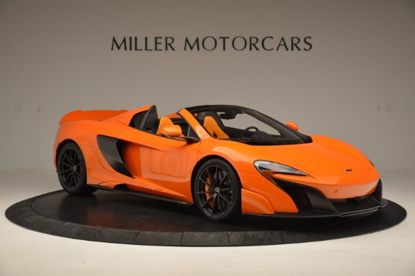 Used 2016 McLaren 675LT Spider Convertible for sale Sold at Bentley Greenwich in Greenwich CT 06830 10