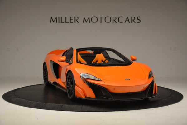 Used 2016 McLaren 675LT Spider Convertible for sale Sold at Bentley Greenwich in Greenwich CT 06830 11
