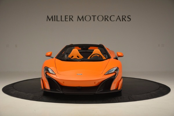 Used 2016 McLaren 675LT Spider Convertible for sale Sold at Bentley Greenwich in Greenwich CT 06830 12
